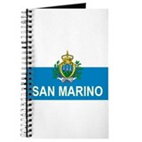 Sammarinese Flag (labeled) Journal