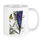 Pencil Point &amp;quot;Butterfly&amp;quot; Mug