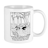 A Philosopher in the Woods Small Mug