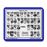 1962 Walsh High School, Ottumwa, Iowa, Mousepad