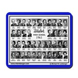 1961 Walsh High School, Ottumwa, Iowa, Mousepad