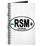 San Marino Euro Oval Journal