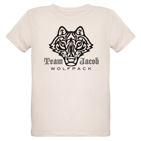 Team Jacob Wolfpack Organic Kids T-Shirt