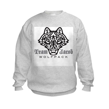 Team Jacob Wolfpack Kids Sweatshirt