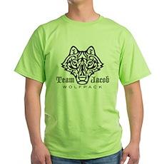 Team Jacob Wolfpack Green T-Shirt