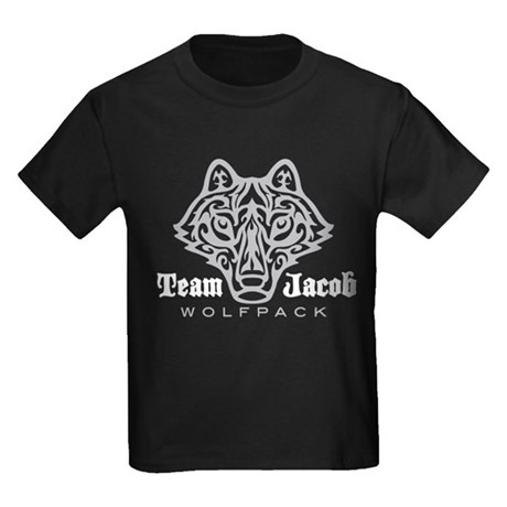 Team Jacob Wolfpack Kids Dark T-Shirt