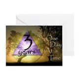 3 Year ODAAT Birthday Greeting Card