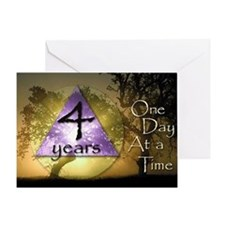 4 Year ODAAT Birthday Greeting Card