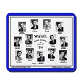 1954 Walsh, High School, Ottumwa, Iowa, Mousepad