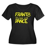 Frants rhymes with Pance Women's Plus Size Scoop N