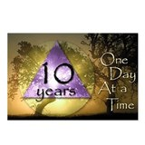 10 Year ODAAT Birthday Postcards (Package of 8)