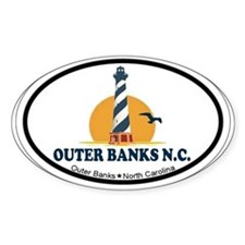 Outer Banks NC - Lighthouse Design Decal