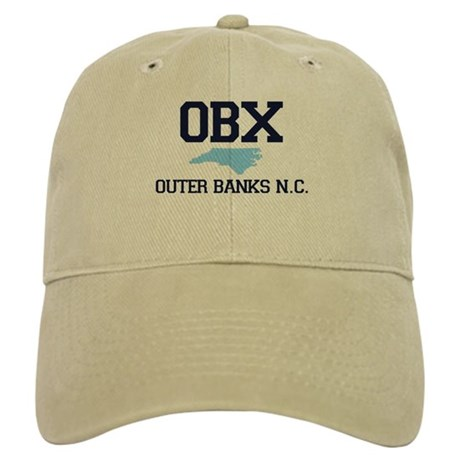 Outer Banks NC - Map Design Cap