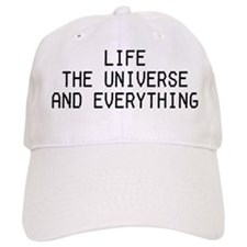 Life, The Universe, and Everything! Baseball Cap
