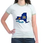 ILY New York Jr. Ringer T-Shirt