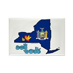 ILY New York Rectangle Magnet (10 pack)