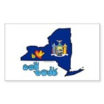 ILY New York Sticker (Rectangle 10 pk)