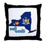 ILY New York Throw Pillow
