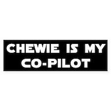 Chewie CoPilot Bumper Bumper Sticker