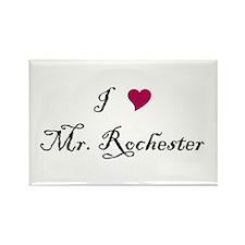 I Heart Mr. Rochester Rectangle Magnet