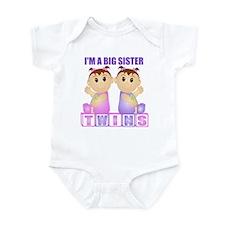 I'm A Big Sister (PGG:blk) Infant Bodysuit