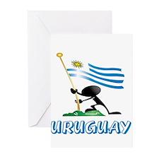 Cute Uruguay Greeting Cards (Pk of 10)
