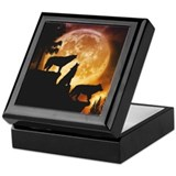 Wolves Peak Keepsake Box