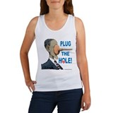 Plug the Hole! Women's Tank Top