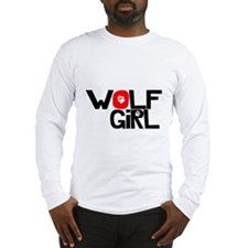 Wolf Girl - Long Sleeve T-Shirt