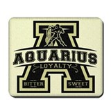 Aquarius Mousepad