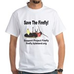 Save The Firefly White T-Shirt