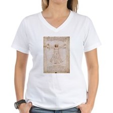 Vitruvian Man by Leonardo Shirt