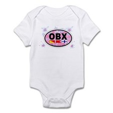 Outer Banks NC - Oval Design Onesie
