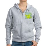 STL Sectional Chart Zip Hoody