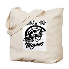 SAGINAW HIGH TROJANS Tote Bag