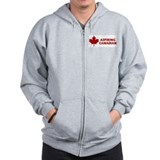 Aspiring Canadian Zipped Hoody