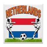 NETHERLANDS SOCCER Tile Coaster