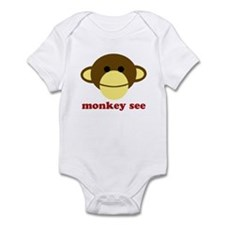 Monkey See, Monkey Do Onesie