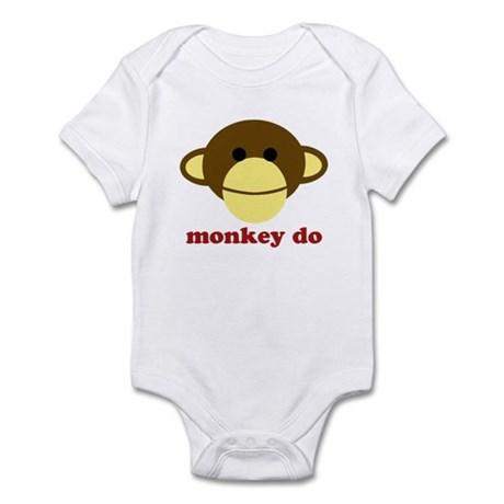Monkey See, Monkey Do Infant Bodysuit