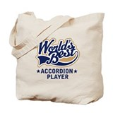 Worlds Best Accordion Player Tote Bag