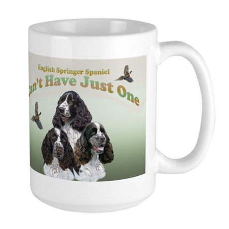 English Springer Can't Have J Large Mug