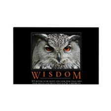 Wisdom Rectangle Magnet (10 pack)