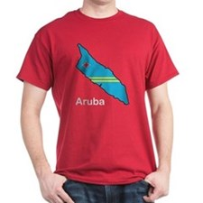 Map Of Aruba T-Shirt