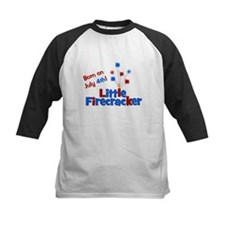 Born on July 4th Little Firec Tee