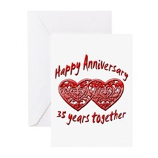 Funny Wedding anniversary favors Greeting Cards (Pk of 20)
