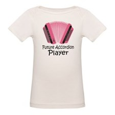Future Accordion Player Organic Baby T-Shirt