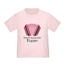 Future Accordion Player Toddler T-Shirt