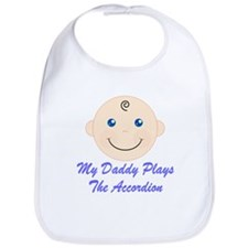 Daddy Plays Accordion Bib