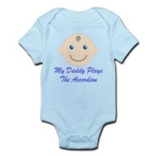 Daddy Plays Accordion Infant Bodysuit