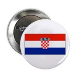 Croatia Blank Flag Button